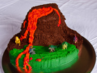 Andrea Meyers - Volcano Birthday Cake