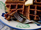 Andrea Meyers - Spiced Pumpkin Waffles