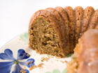 Andrea's Recipes - Zucchini-Olive Oil Cake with Lemon Crunch Glaze