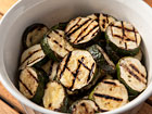 Andrea Meyers - Grilled Zucchini with Herb Marinade (The Kids Cook Monday)