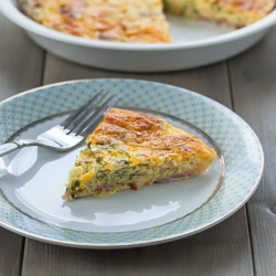 Crustless Quiche Recipe - Andrea Meyers