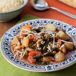 Winter Minestrone Recipe - Andrea Meyers