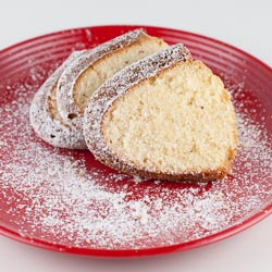 Eggnog Pound Cake Recipe - Andrea Meyers