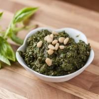 Basic Basil Pesto Recipe - Andrea Meyers