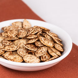 Roasted Pumpkin Seeds - Andrea Meyers