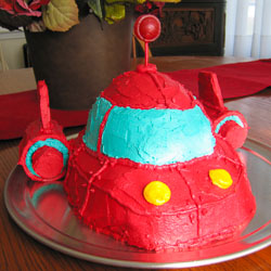 Little Einsteins Rocket Birthday Cake Recipe - Andrea Meyers