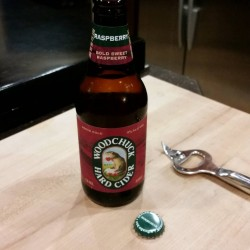 Trying something new tonight Tasty! WoodchuckCider