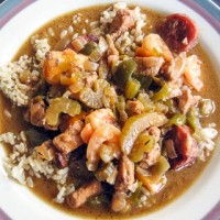Empty the Freezer Gumbo - Andrea Meyers