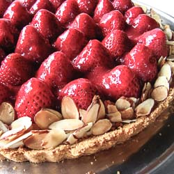 Strawberry Cream Tart - Andrea Meyers