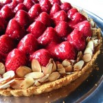 Strawberry Cream Tart Recipe - Andrea Meyers