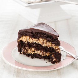 Inside-Out German Chocolate Cake - Andrea Meyers