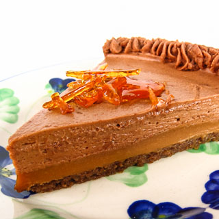 Milk Chocolate and Caramel Tart - Andrea Meyers