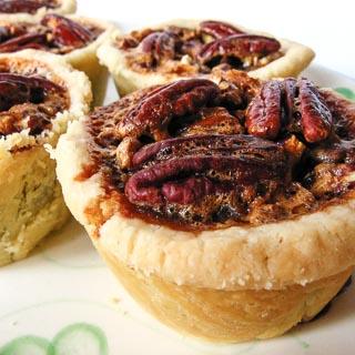 Mini Chocolate Pecan Pies Recipe - Andrea Meyers