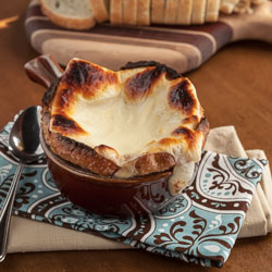 Vegetarian French Onion Soup Recipe - Andrea Meyers