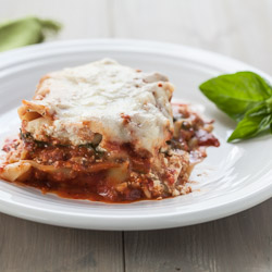 Spinach and Basil Lasagna