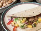 Grilled Fish Tacos with Mango-Avocado Salsa - Andrea Meyers