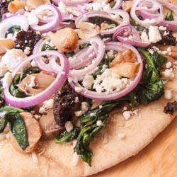 White Grilled Pizza Recipe - Andrea Meyers