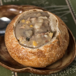 New England Clam Chowder Recipe - Andrea Meyers