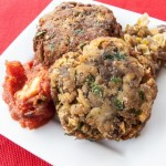 Italian Grilled Eggplant Cakes Recipe - Andrea Meyers