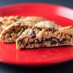 Cranberry Pistachio Biscotti Recipe - Andrea Meyers