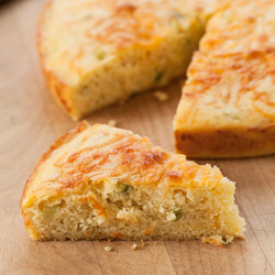 Jalapeno Cheddar Cornbread Recipe - Andrea Meyers