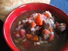 Andrea Meyers - Slow Cooker Beef Barley Soup