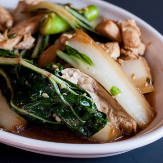 Chicken Bok Choy