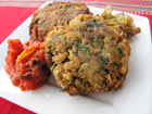 Andrea Meyers - Italian Grilled Eggplant Cakes