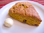 Andrea Meyers - Pumpkin Raisin Scones