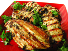 Thai Grilled Chicken with Cilantro Dipping Sauce