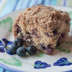 Whole Wheat Blueberry Buckle