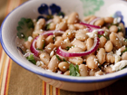 Andrea Meyers - Cannellini Bean Salad with White Balsamic Vinaigrette