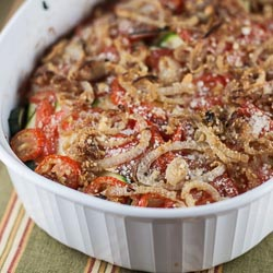 Zucchini and Tomato Gratin - Andrea Meyers