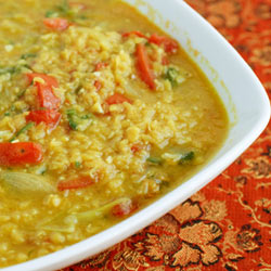 Spiced Vegetable Dal - Andrea Meyers