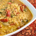 Spiced Vegetable Dal Recipe - Andrea Meyers