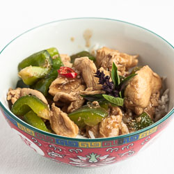 Thai Basil Chicken (Kai Kraphao)