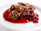 Andrea Meyers - Cranberry Apple Raisin Crisp