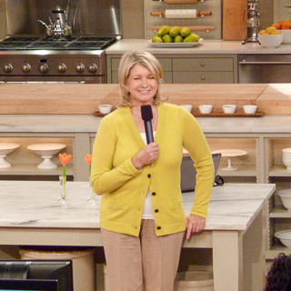 At The Martha Stewart Show