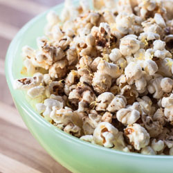 Popcorn with Brown Butter, Rosemary, and Lemon