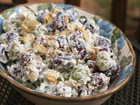 Andrea Meyers - Creamy Grape Salad with Almonds