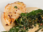 Andrea Meyers - Chipotle Chicken with Creamy Spinach