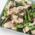 Chicken Stir-Fry Recipe with Asparagus and Snow Peas - Andrea Meyers