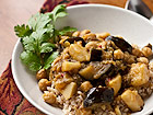 Andrea Meyers - Eggplant, Potato, and Chickpea Curry
