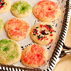 Mexican Butter Cookies Recipe with Sprinkles (Galletas con Chochitos) - Andrea Meyers