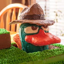 Agent P, aka Perry the Platypus Birthday Cake Recipe - Andrea Meyers