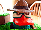 Andrea Meyers - Agent P Birthday Cake