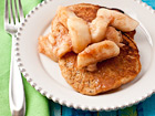 Whole Wheat, Oatmeal, and Banana Pancakes - Andrea Meyers