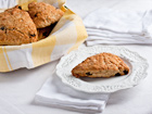 Cherry Sour Cream Scones