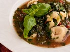 Spinach and Tortellini Soup (The Kids Cook Monday) - Andrea Meyers