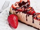 Andrea Meyers - Strawberry Chocolate Cheesecake